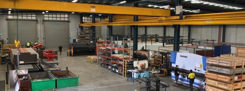 TRJ Engineering factory