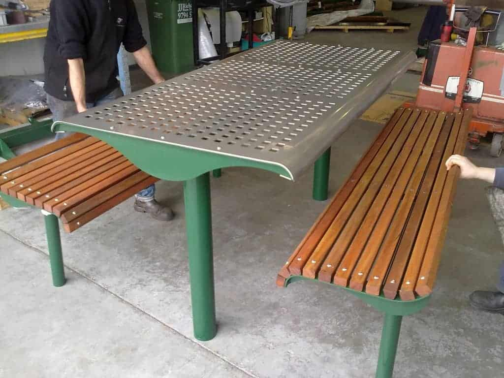 Street Furniture Melbourne City Council Trj Engineering