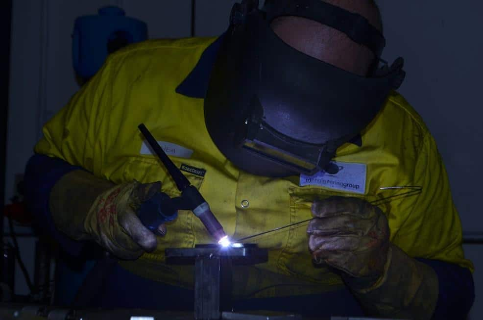 TRJ Engineering welding services Dandenong